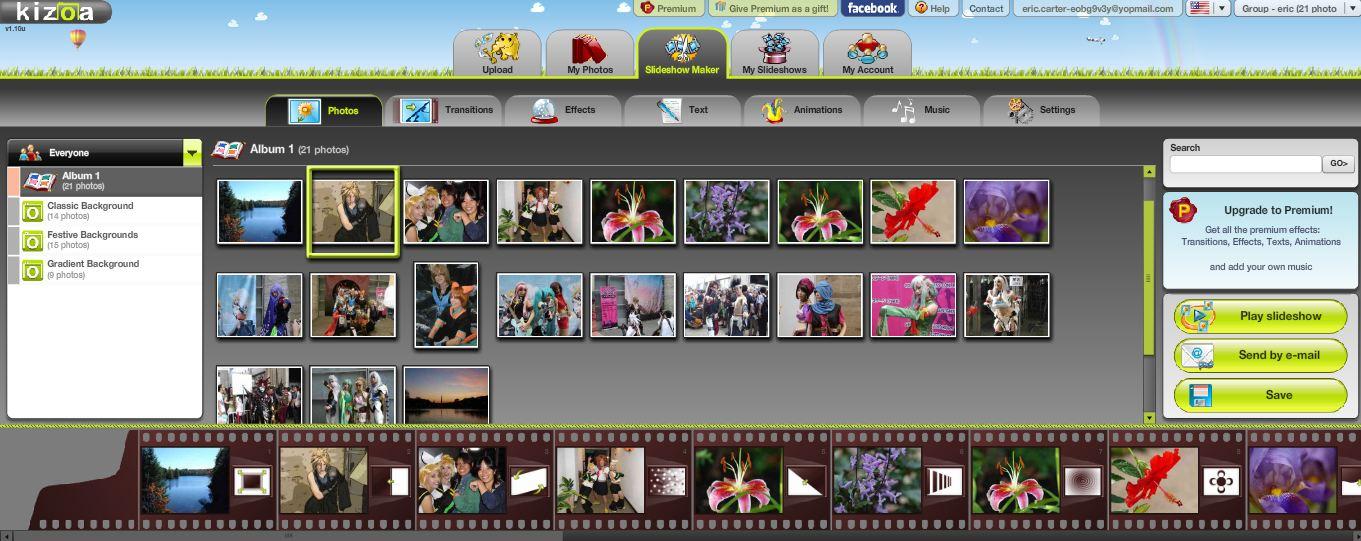 kizoa video maker free download