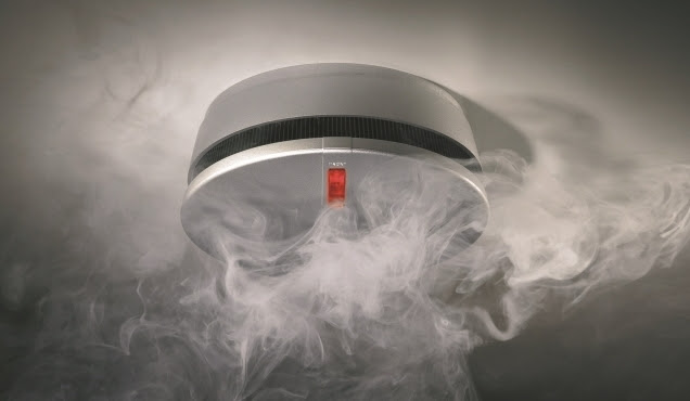 czujnik dymu hager